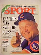 DON ZIMMER signed CUBS 1988 SPORT baseball magazine YANKEES AUTO illustrated RAY