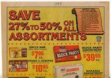 """1984 Vintage Sales Sheet: """"FREEDOM FIREWORKS"""""""