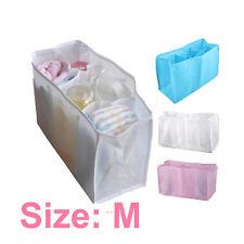 Portable Travel Outdoor Baby Diaper Nappy Organizer Stuffs Insert Storage Bag
