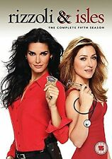 Rizzoli & Isles Complete Series 5 DVD All Episodes Fifth Season Original UK NEW