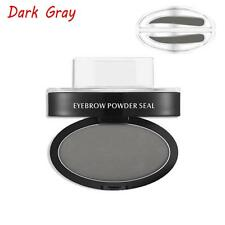 Eyebrow Shadow Definition Makeup Brow Stamp Powder Palette Natural Dark Gray