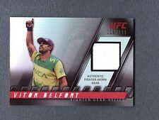 2010 Topps UFC Knockout Fighter Gear Relics #FGVB Vitor Belfort 115/188 UFC 110