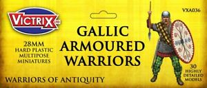 VICTRIX ~ ANCIENT ~ GALLIC ARMOURED WARRIORS ~ NEW ~ UNOPENED