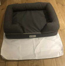 Small dog bed by Petfusion Solid memory foam mattress - New