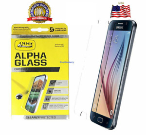 📲Otterbox CLEAR ALPHA GLASS for Samsung Galaxy iPhones Note 8 9 10 12 X XS Plus