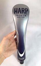 """Guinness Brewery HARP Premium Irish Lager Ceramic Beer Tap Handle Ireland 12"""""""