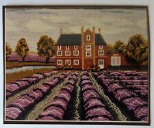 "New listing Norfolk Lavender Tapestry/Needlepoint Kit - Caley Mill Heacham - 10"" x 8"""