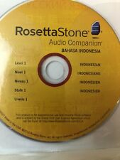 Rosetta Stone Audio Companion CD Version-3 Level 1 Indonesia