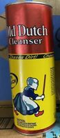 Vintage OLD DUTCH Cleanser With Bleach Powdered 21 Oz. Unopened Can Made USA NOS