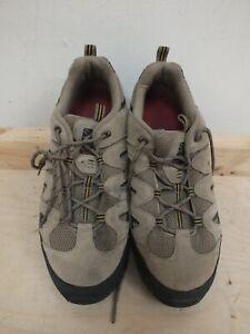 Beige Karrimor Summit 00 Walking Shoes Size 10   (Hol)