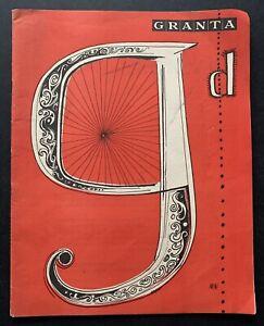 Cambridge University GRANTA 1955 ADVERTS Guinness Magazine Ann Smith