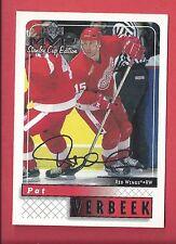 1999-00 Upper Deck MVP Stanley Cup Edition Silver Script 69 PAT VERBEEK