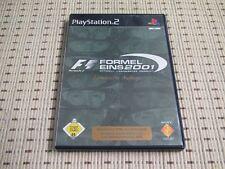 Formel Eins 2001 für Playstation 2 PS2 PS 2 *OVP*