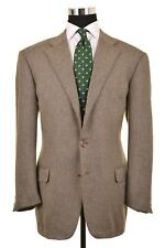 Ermenegildo Zegna Multi Color Crowsfoot Weave 100% CASHMERE Sport Coat Jacket 44