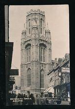 Gloucestershire Glos BRISTOL University Tower RP Plain Back 1946