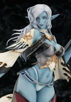 Lineage II Dark Elf 1/7 scale Painted PVC Figure Max Factory Japan