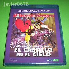 EL CASTILLO EN EL CIELO STUDIO GHIBLI BLU-RAY + DVD NUEVO Y PRECINTADO
