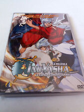 "DVD ""INUYASHA LA PELICULA LA ESPADA CONQUISTADORA"" RUMIKO TAKAHASHI"