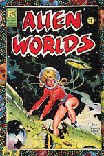 Alien Worlds #4 Comic Bruce Jones, Dave Stevens VF