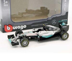 Bburago 1:43 F1  Benz AMG W07 #6 Nico Rosberg 2016 Diecast Racing