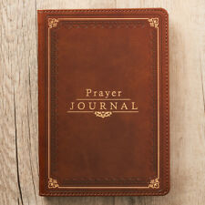 Prayer Journal Brown LuxLeather by Christian Art Gifts