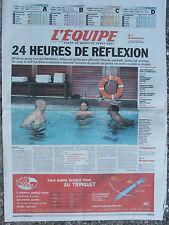 L'Equipe du 18/9/2007 - Coupe du monde de rugby - Avant France-Irlande