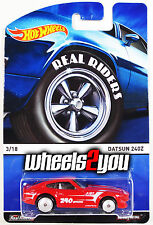 DATSUN 240z red - 2015 Hot Wheels Heritage w/ Real Riders - A Case -