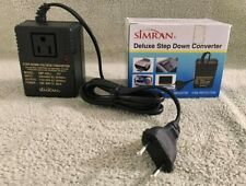 Simran Deluxe Step Down Converter, Smf-200, 200 Watts, International Travel
