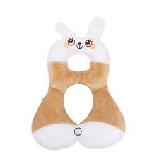 Baby Soft Cartoon Travel Car Safety Seat Neck Support Pillow Headrest Cushion