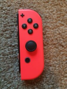 Genuine Nintendo Switch Joy Con Right (Plus) Official Neon Red EXCELLENT 👍