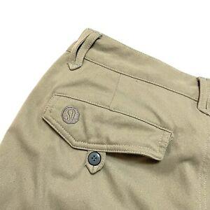 Lululemon 32 31 x 32 Wet Dry Warm Pants Older Style Side Zip Vents