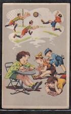 SPORT CALCIO TOTOCALCIO Soccer PC circa 1940 ITALY Comic