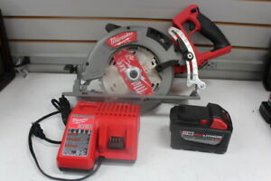 """Milwaukee 2830-20 M18 FUEL Cordless 7-1/4"""" Rear Handle Circular Saw With HD9.0"""