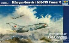 Trumpeter - MiG-19 S Farmer C NVA DDR Soviet PLAAF 1:48 Modell-Bausatz NEU kit
