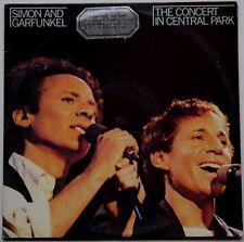 SIMON & GARFUNKEL Concert In Central Park 2LP g/fold 1982 OZ Geffen VG++/EX