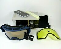Giro SEMI Adult Snow Sports Goggles Midnight Peak Amber Gold/Yellow Lens