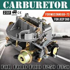 2-Barrel Carburetor Carb 2100 For Ford 289 302 351 Cu Jeep 360 Engine 1964-1978