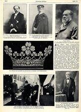 Brilliantdiadem Silber-Hochzeitsgeschenk des deutschen Kaisers für die Kaiserin