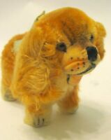 Steiff Mohair Cockie Cocker Spaniel Dog Plush 1950s Mini No Tag glass eyes
