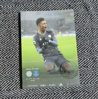 Leicester v Everton Matchday Programme 1/12/19!!! LAST ONE!!!