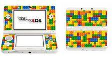 LEGO brick Vinile Skin Adesivo per Nintendo 3ds (con Stick C) 3ds2