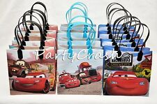 12 Disney Cars Mc Queen Pixar Party Favors Bags Goodie Loot Tote Candy Treats