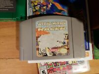 Star Wars Episode 1 Racer - Nintendo 64 N64 Game Tested + Working & Authentic!