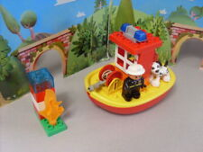 LEGO DUPLO FIRE BOAT WITH FIGURE  COMPLETE SET 10591
