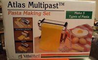 Atlas Multipast VillaWare Pasta Making Machine Makes Five Types of Pasta NIB