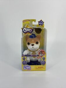 OMG Pets! Little Live Pets French Bulldog With Sunglasses NEW!