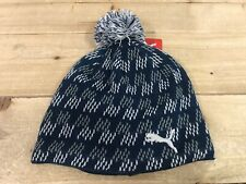 ba6e4fb02a5 Puma Golf PWRWARM Pom Beanie Hat Gibralter Sea Womens OSFA ( 022402 )