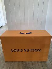 "Large Louis Vuitton Empty Magnetic Collapsible Box 28.5"" X 19"" X 11"" - NO BAG"