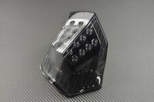 Feu arrière / stop LED fumé clignotants intégrés Yamaha XJ6 diversion 2011-2015