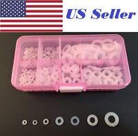 #8 x 5//8 Shoulder Washer Insulator Bushing Nylon Plastic Fastener C27051